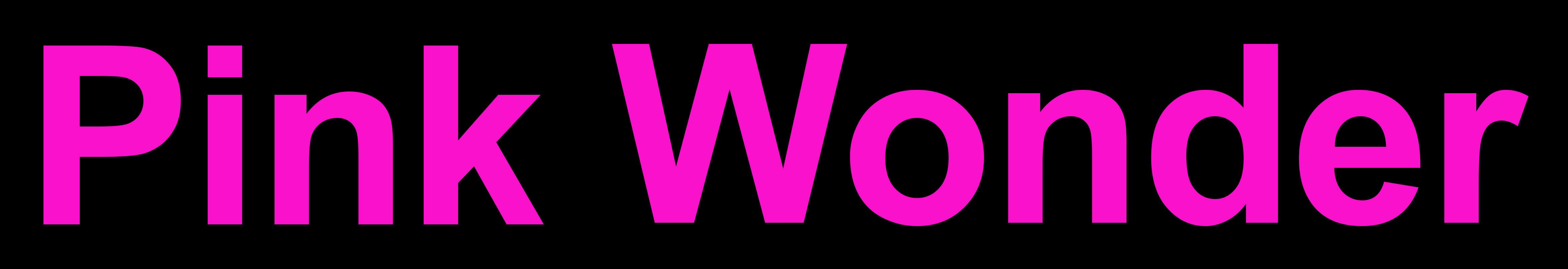 Pink Wonder - Pink Puke